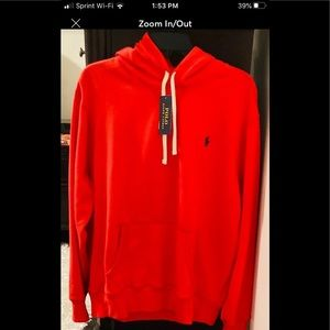 Men's polo hoodies